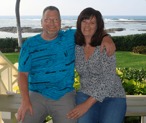 Bob and Lisa Clafford, Owners of AirTech Screen Products