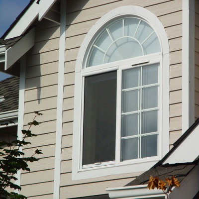 Sliding Window With Cascade Retractable Window Screen Vertically Installed
