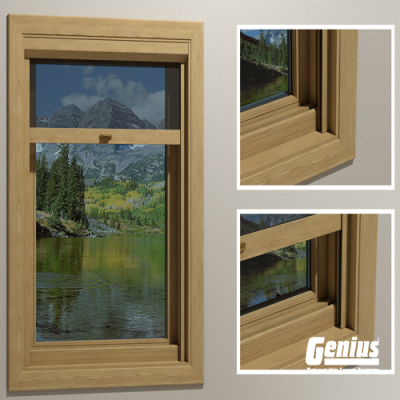 Incognito2 Retractable Window Screens - A  Real Wow Factor!
