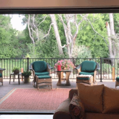 Zig Zag Screens Bring the Outside In Without the Bugs!