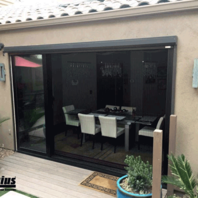 Zig Zag Screens Bring the Patio Inside Without the Critters!