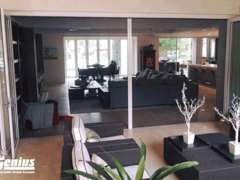 Zig Zag Screens the Perfect Solution for Double Bifold Doors!
