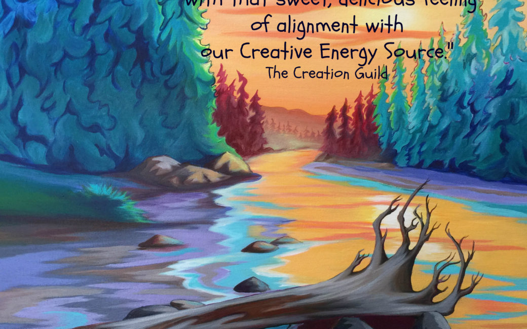 Aligning with creative energy blog by Janice Gallant https://thecreationguild.com/gallery/