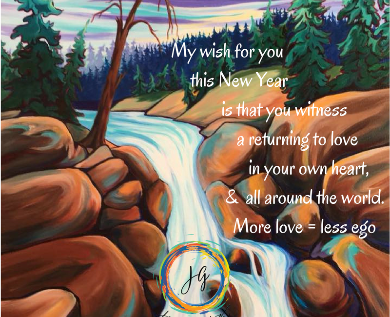 More love less ego blog by Janice Gallant https://thecreationguild.com/returning-to-love/