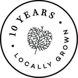10 years locally grown