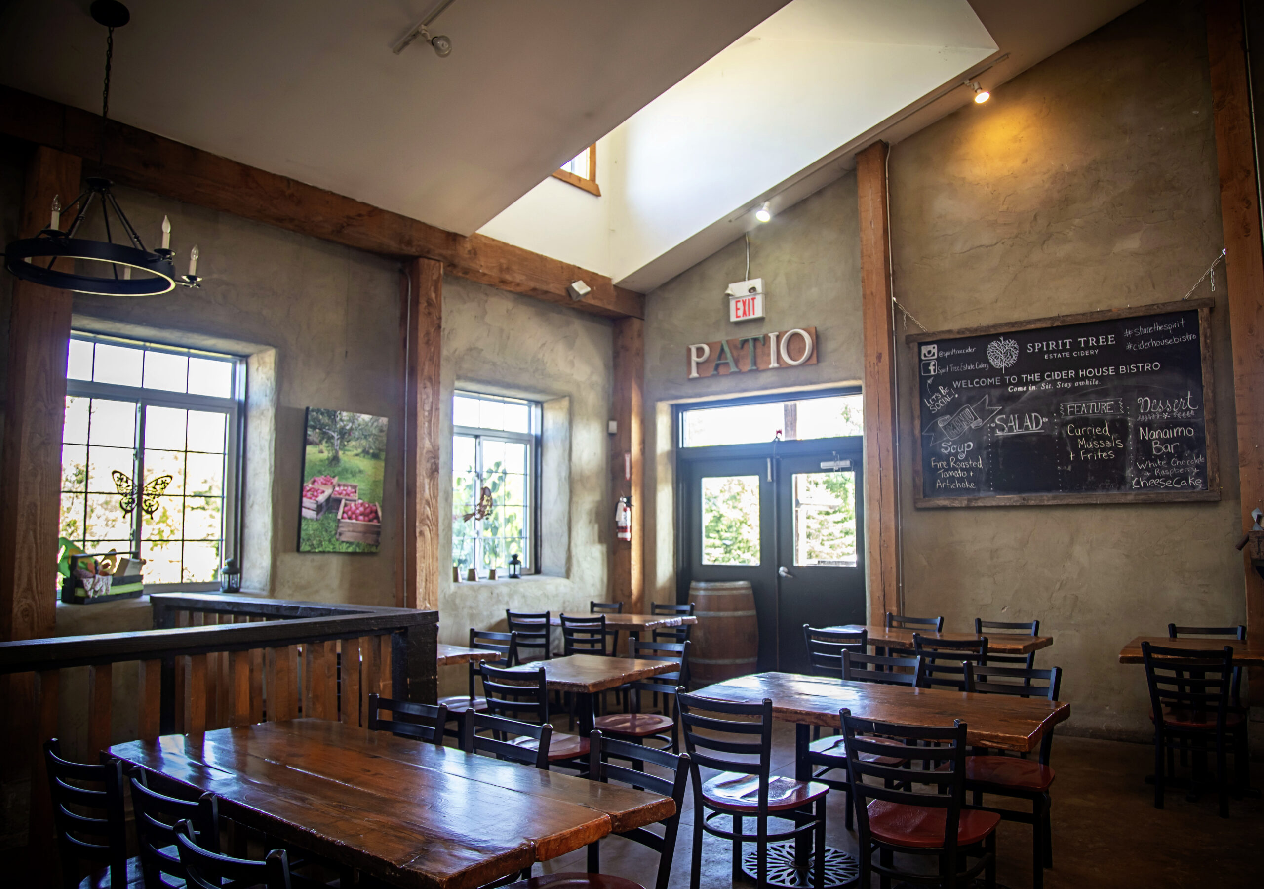 The Ciderhouse Bistro at Spirit Tree
