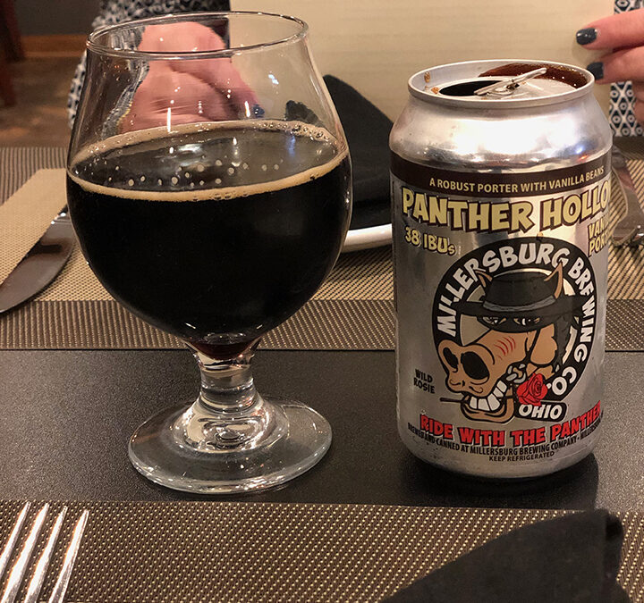 Millersburg Brewing Co. Panther Hollow Vanilla Porter
