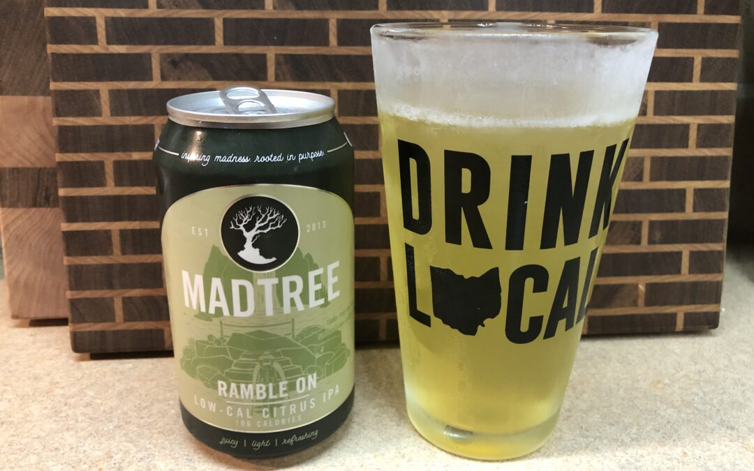 Ramble On Low-Cal Citrus IPA from Madtree
