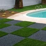 poolside porous paving