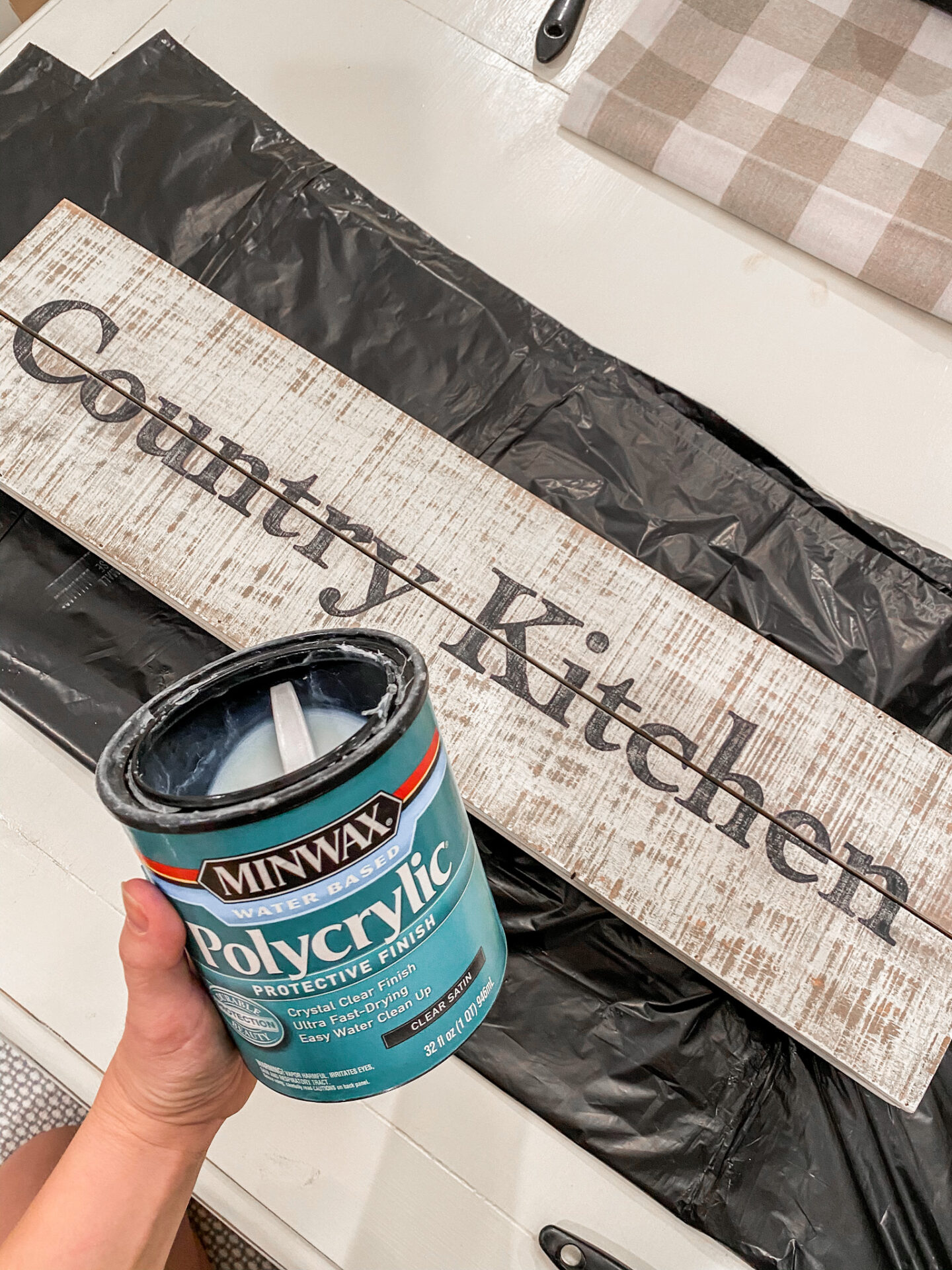 how to seal a project.