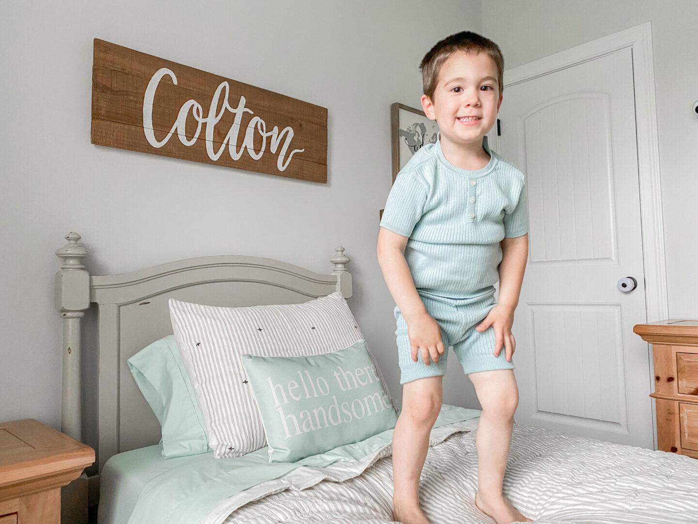 toddler approved bedroom