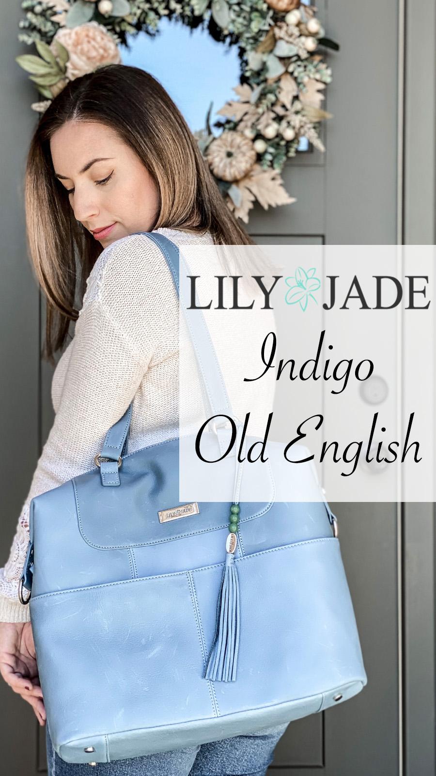 Lily Jade Old English Indigo pinterest.