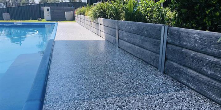 outdoor pool epoxy flooring