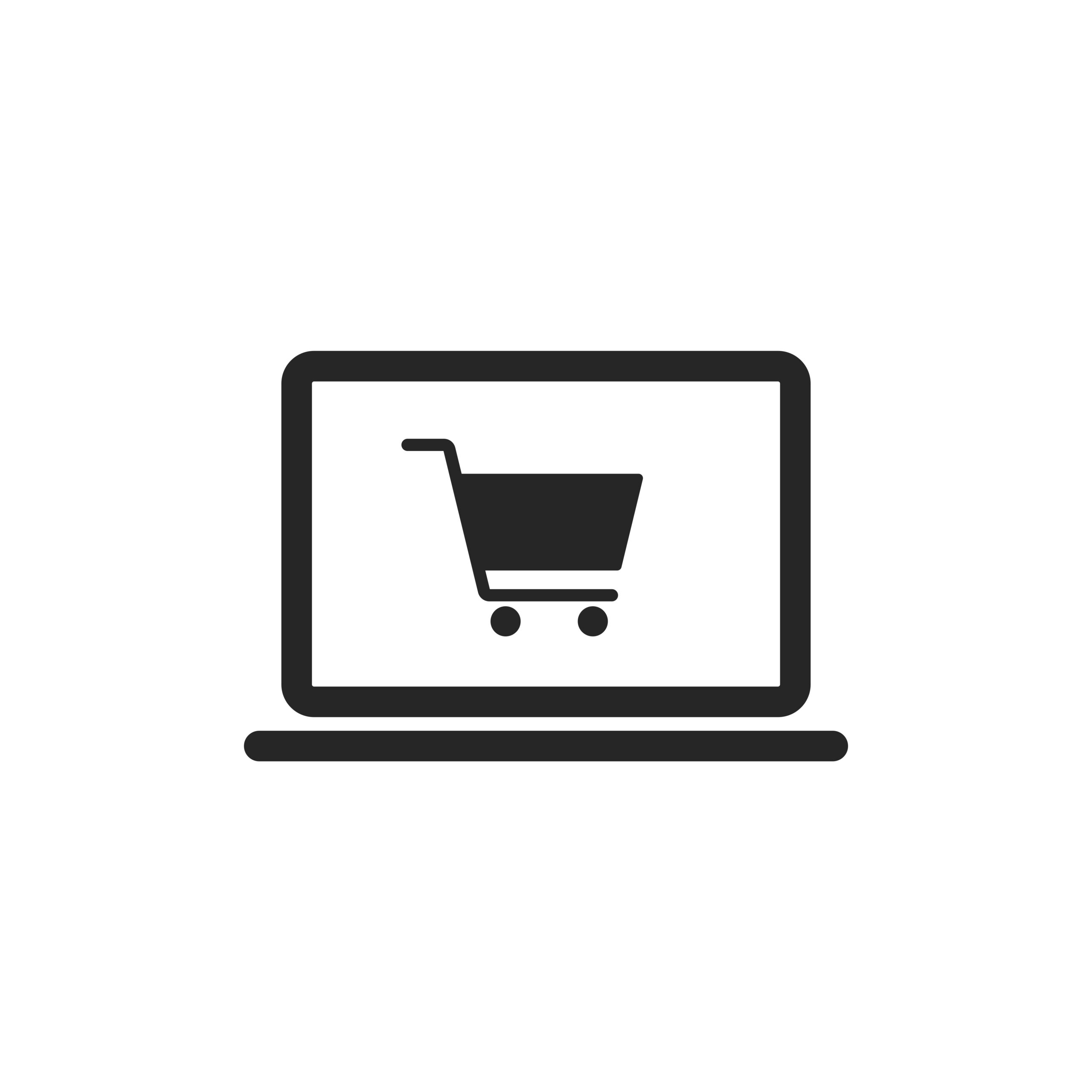 bigstock-Online-Shop-Icon-Vector-With-L-397738634