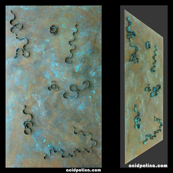 Copper art DNA