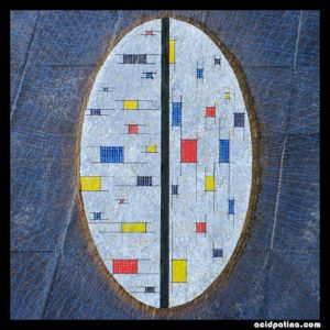 Mental boxes, reminiscent of Mondrian's paintings.
