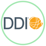 Icon for DDI featuring the DDI logo
