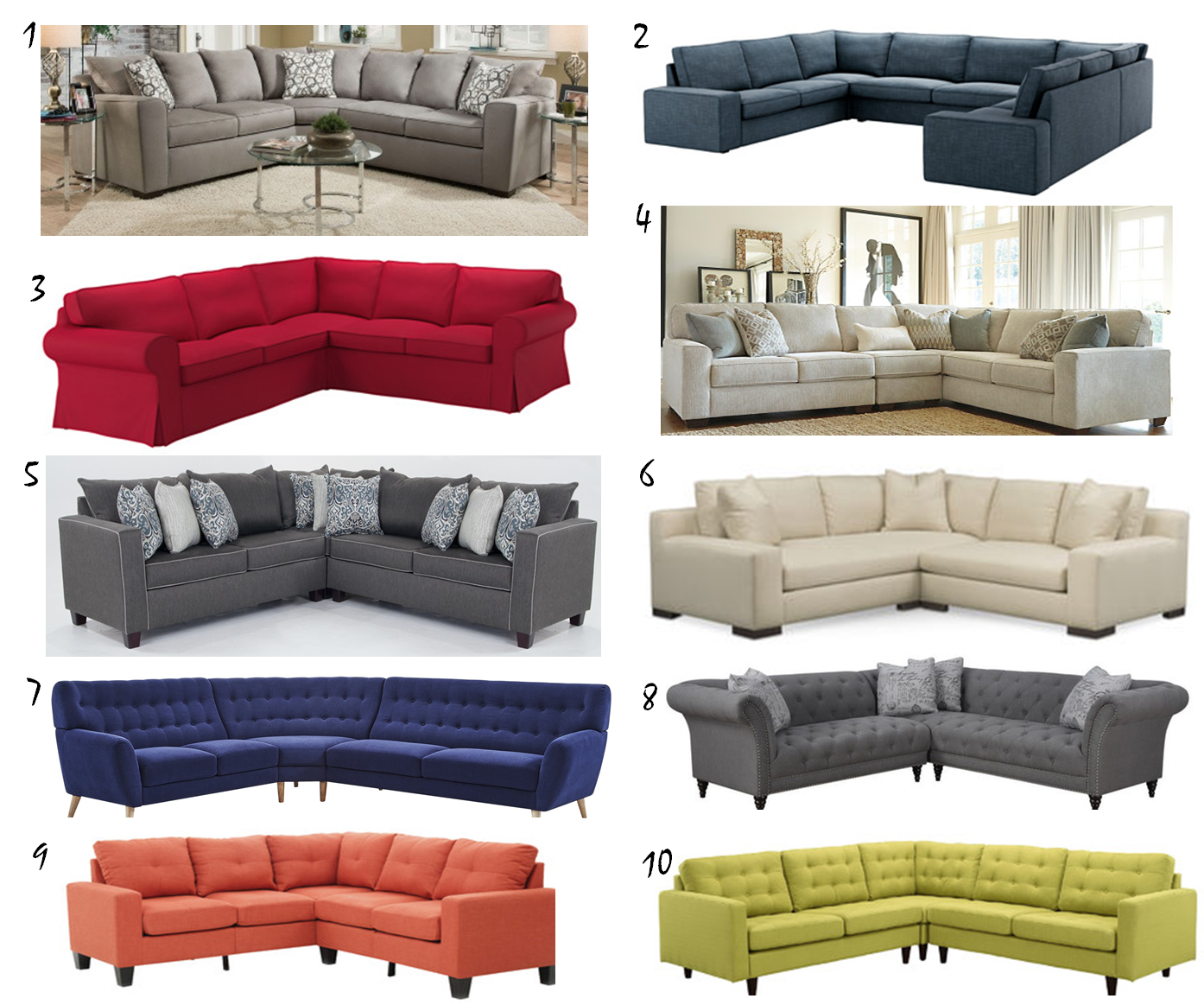 sectionals under $2000