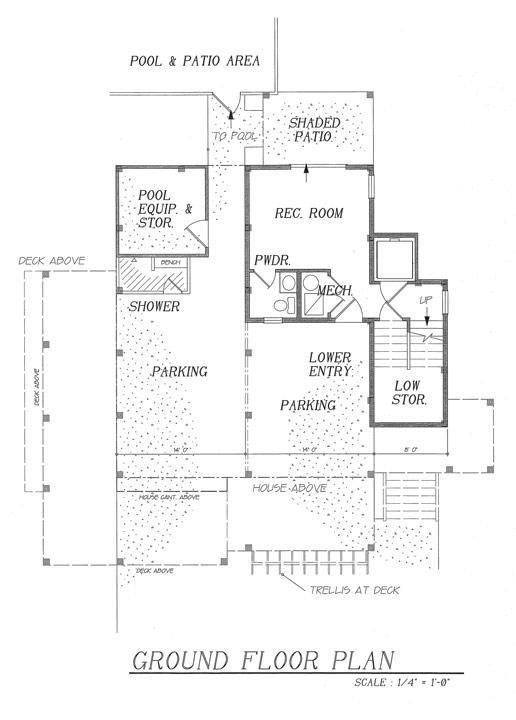 dream beach house ground floor