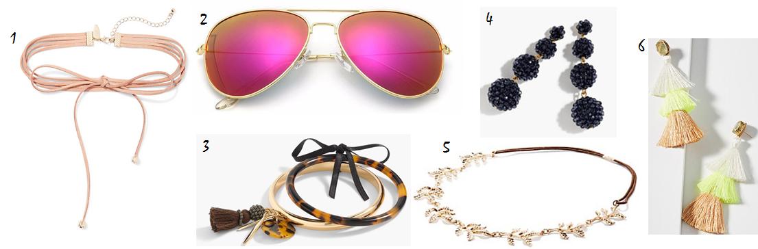 summer accessories staples