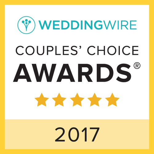 2017 Wedding Wire Couples' Choice Awards
