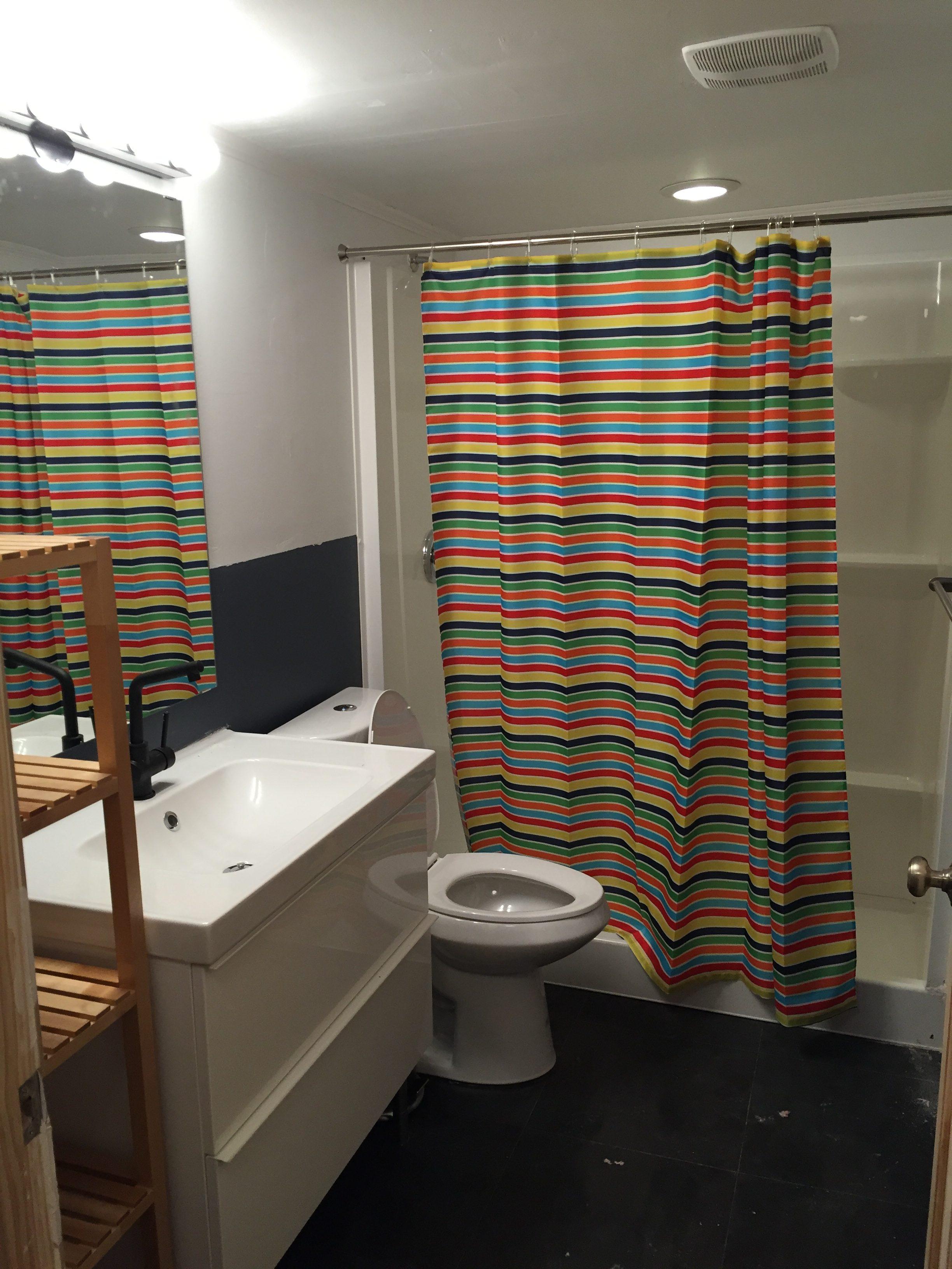 Downstairs Brand New Bathroom