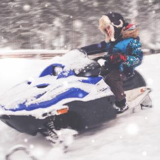 Recreational-Snowmobile