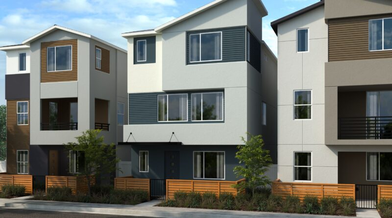 KB Home Lacy_Crossing_Row_Homes_Rendering