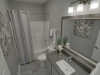 The Ultra Luxe - Lower Level Bathroom