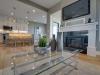 The Urban Prairie - Living Room Fireplace