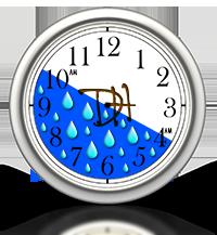 Lawn Watering Clock