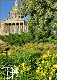Des Moines Capitol Garden