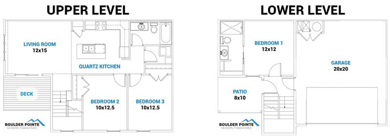Boulder Pointe - Floor Plan