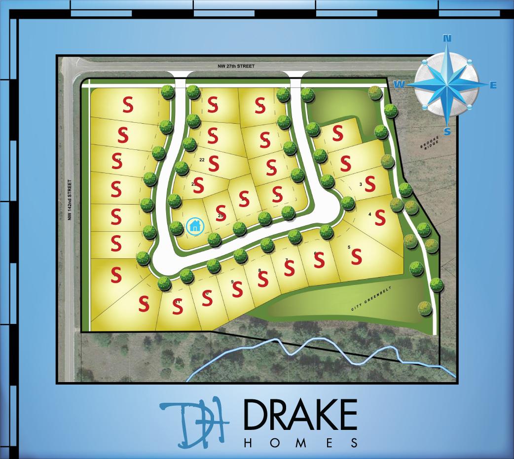 Brooke Ridge West - Plat Map