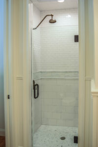 Browse our Bathrooms gallery for remodeling ideas. Take notice of what you're drawn too most. This will help you determine decorative decisions such as cabinetry style & finish, counter top color, decorative tile, flooring, decorative hardware, bathroom trim, mirrors, and linen towers.