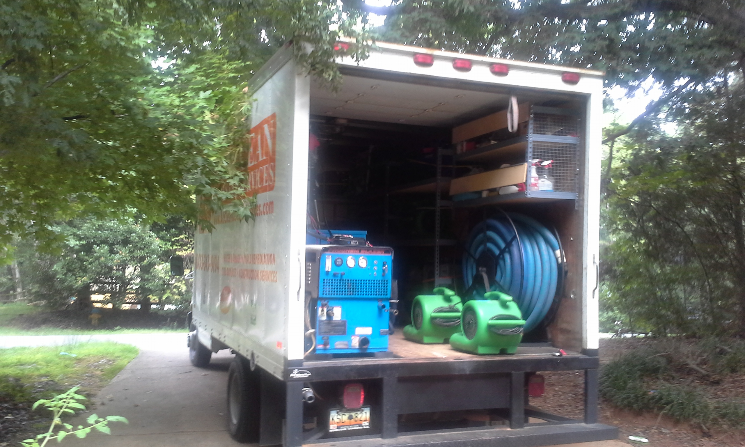 WATER EXTRACTION & REMEDIATION Charlotte, NC