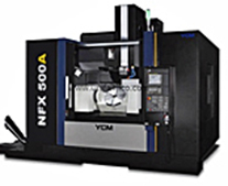 YCM NFX 500A 5-axis trunnion type vertical machining center