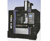 YCM NFX 380A 5-axis trunnion type vertical machining center