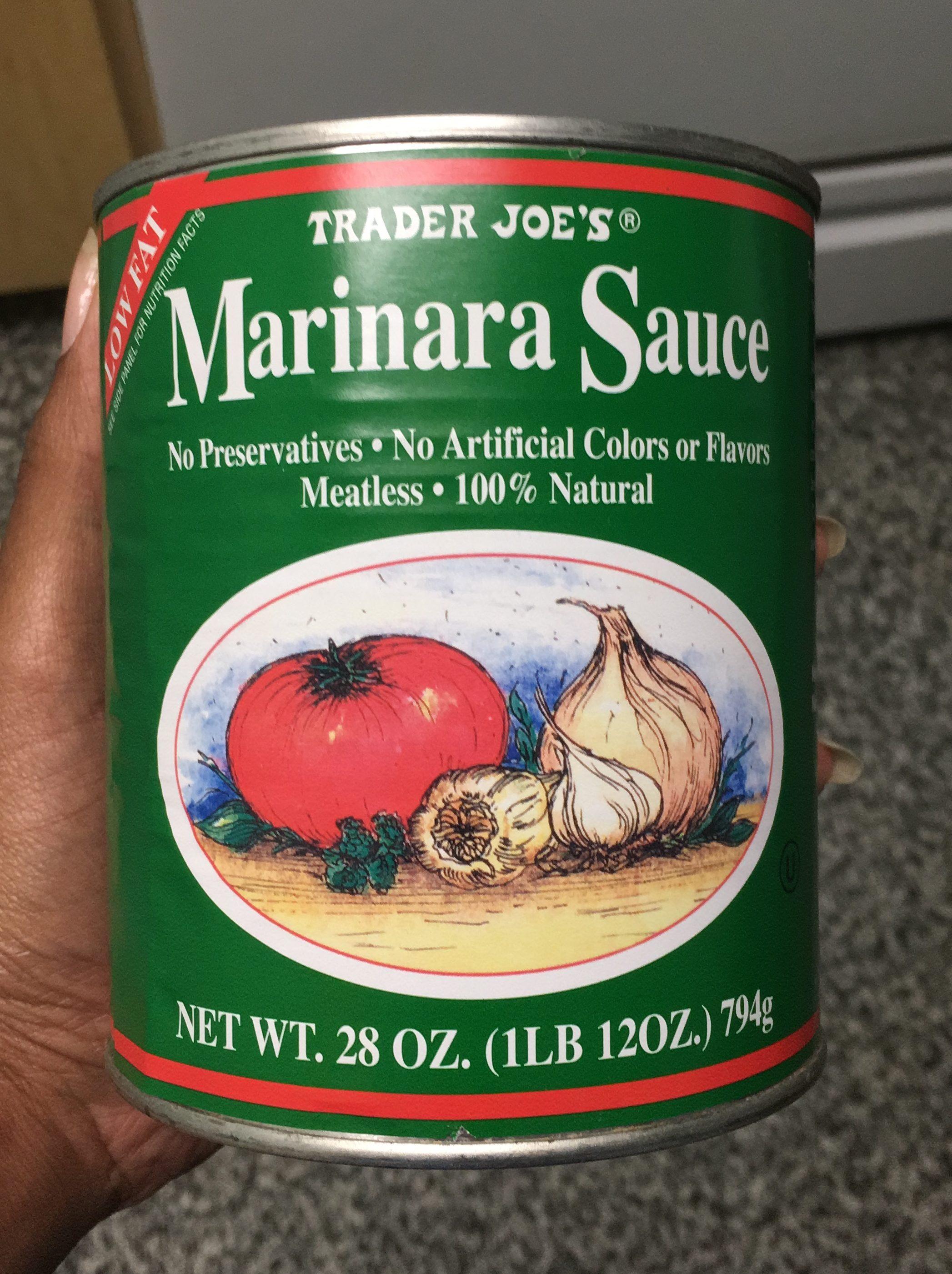 Whole 30 Approved Trader Joe's Marinara Sauce