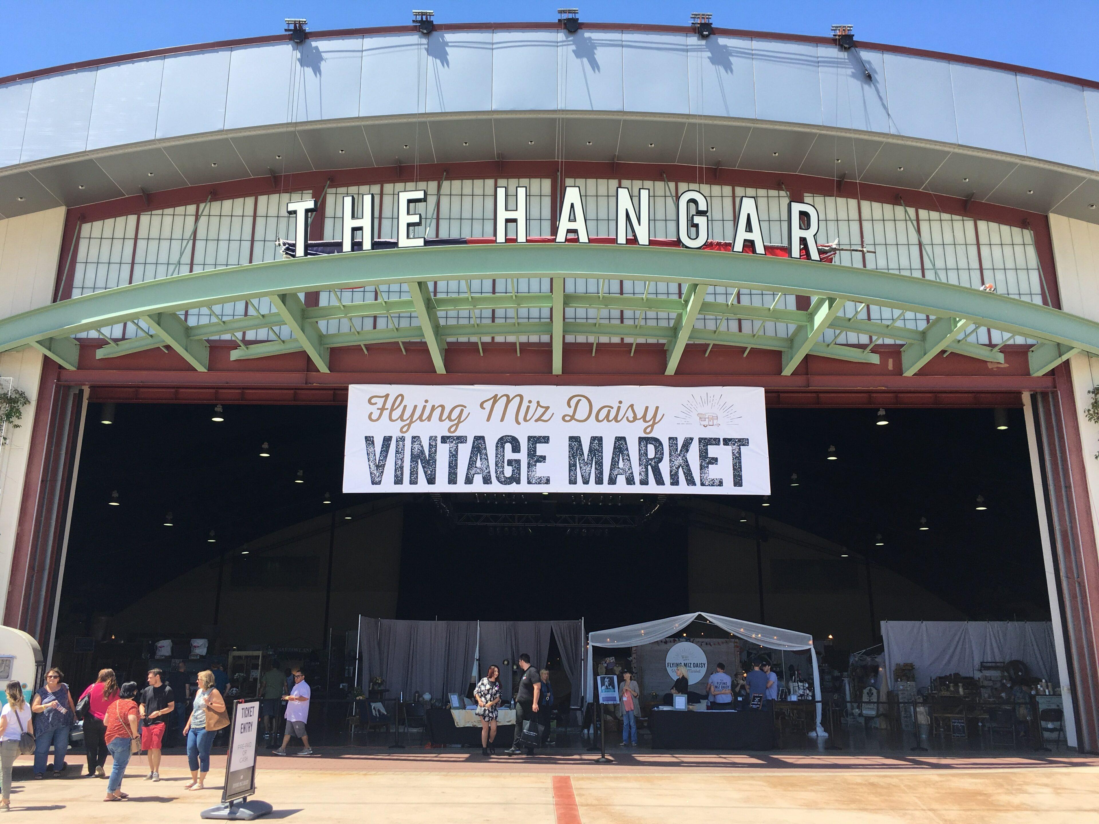 Flying Mrs. Daisy Vintage Market