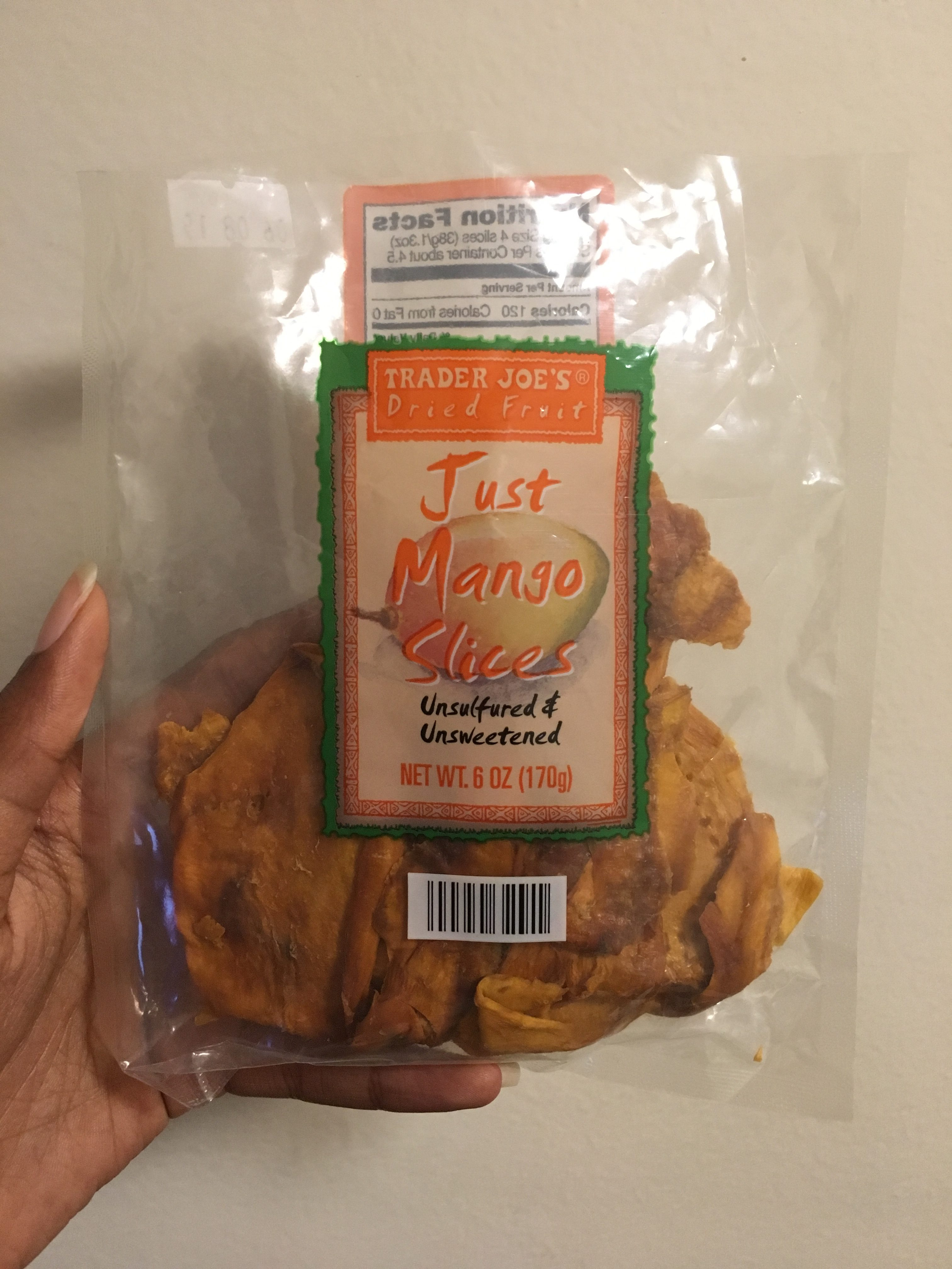 Trader Joes Just Mango Slices