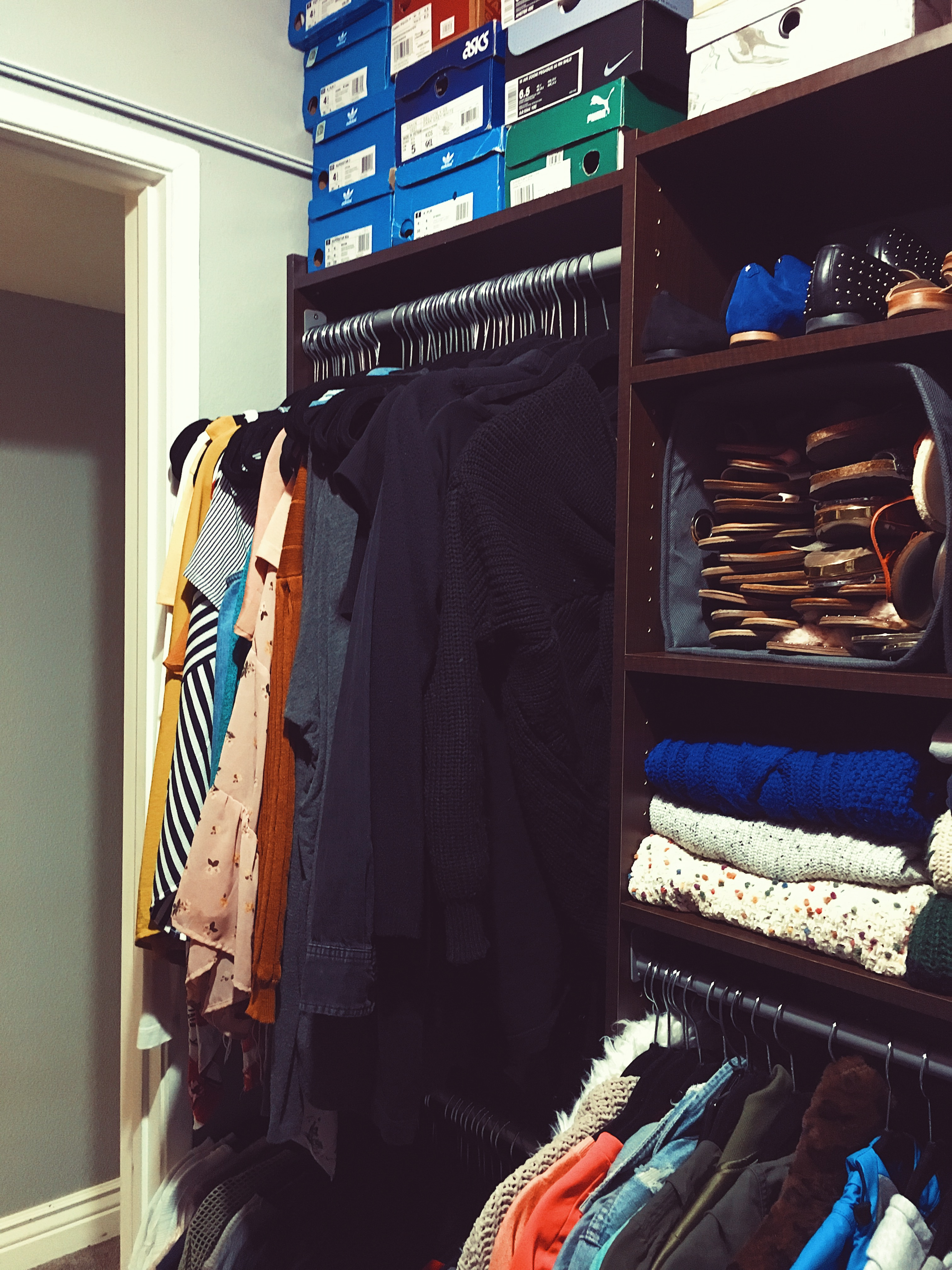 sectional closet-closet organizing-wear who you are