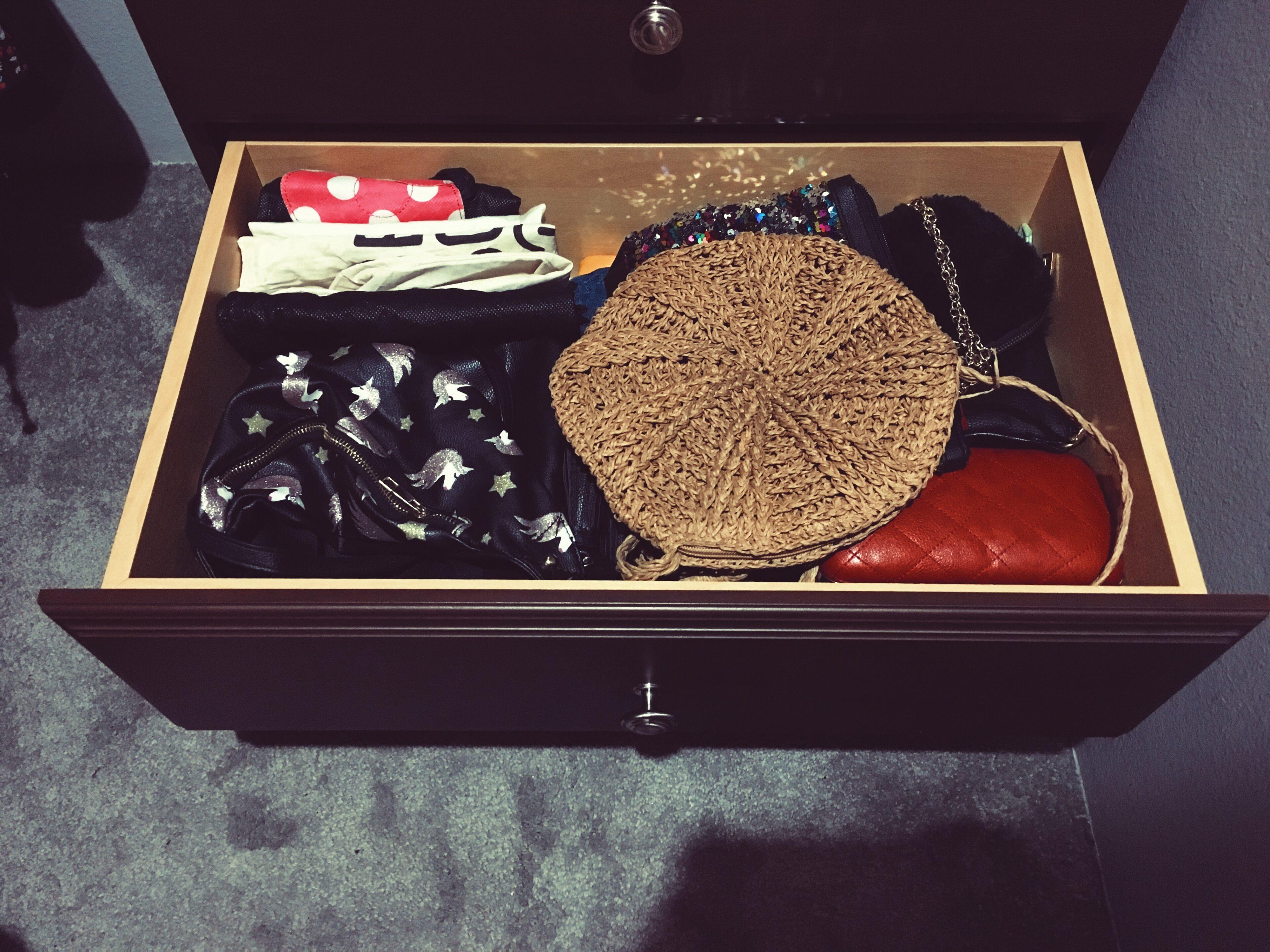 purse storage-closet organization-how to organize purses-wear who you are
