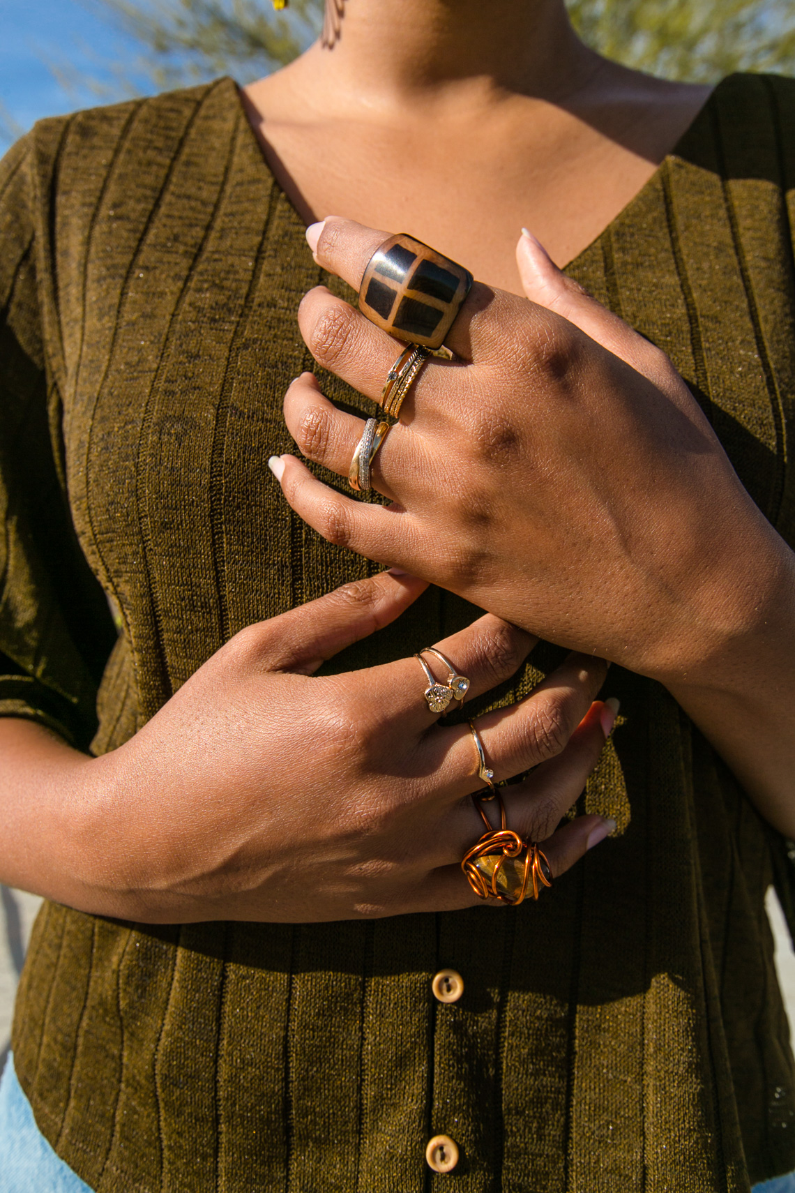 ring inspo-summer jewelry inspiration-h&m blouse-wear who you are