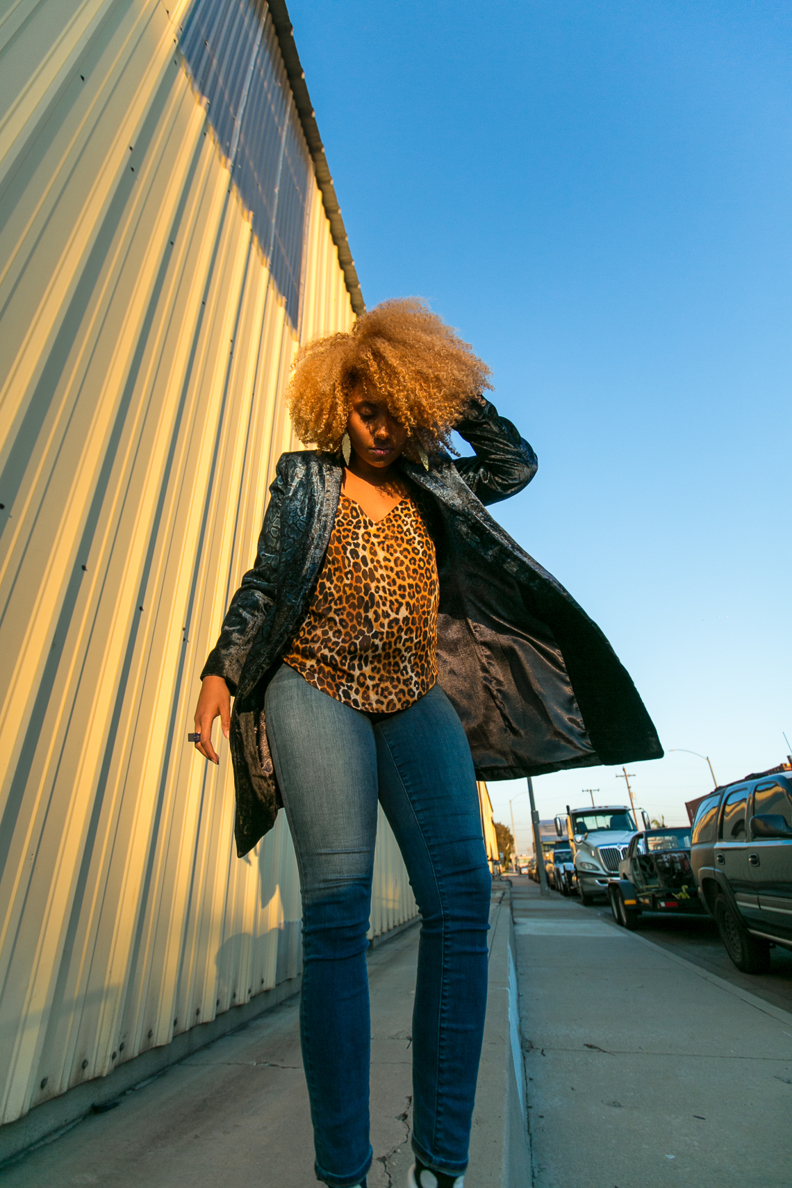 leopard print-natural hair-rsee-xmmtt-wear who you are-lcm