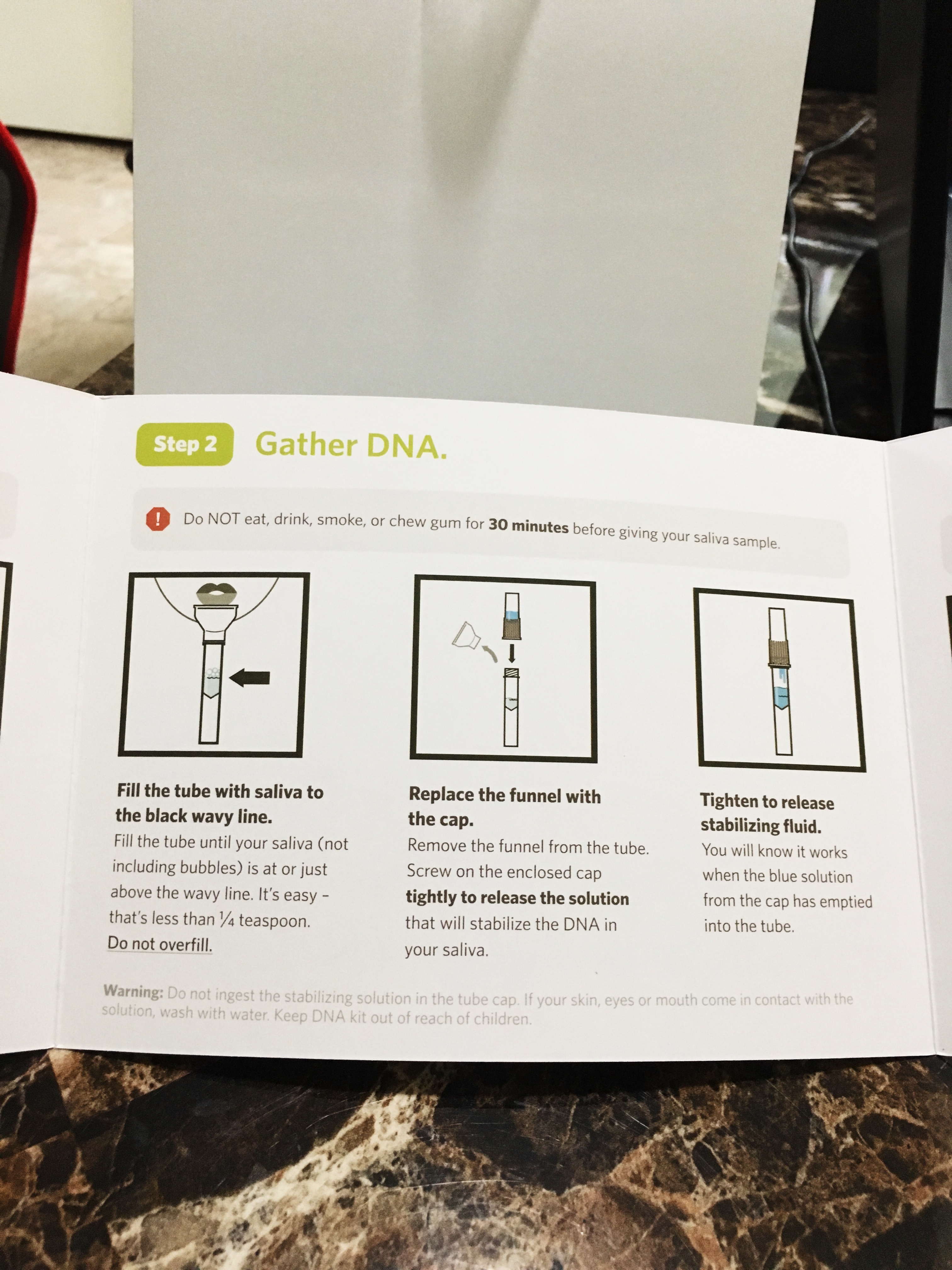 ancetry dna test