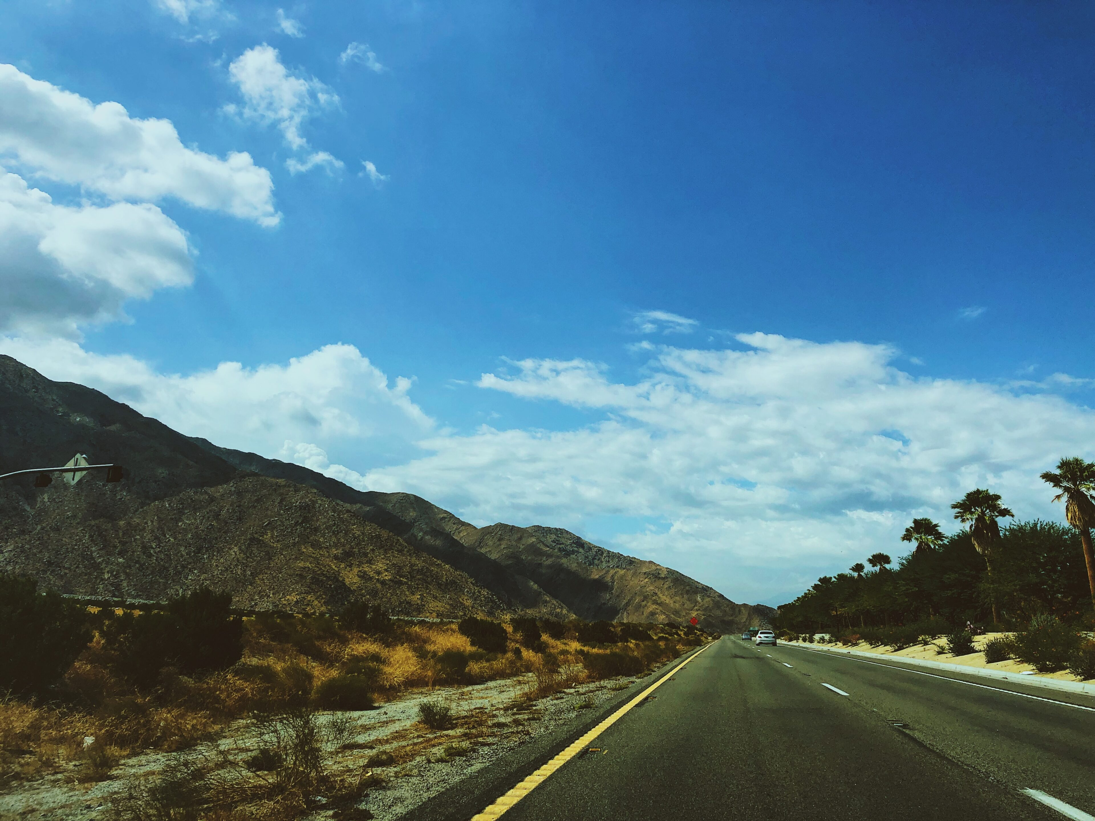 things to do in palm springs-highway road