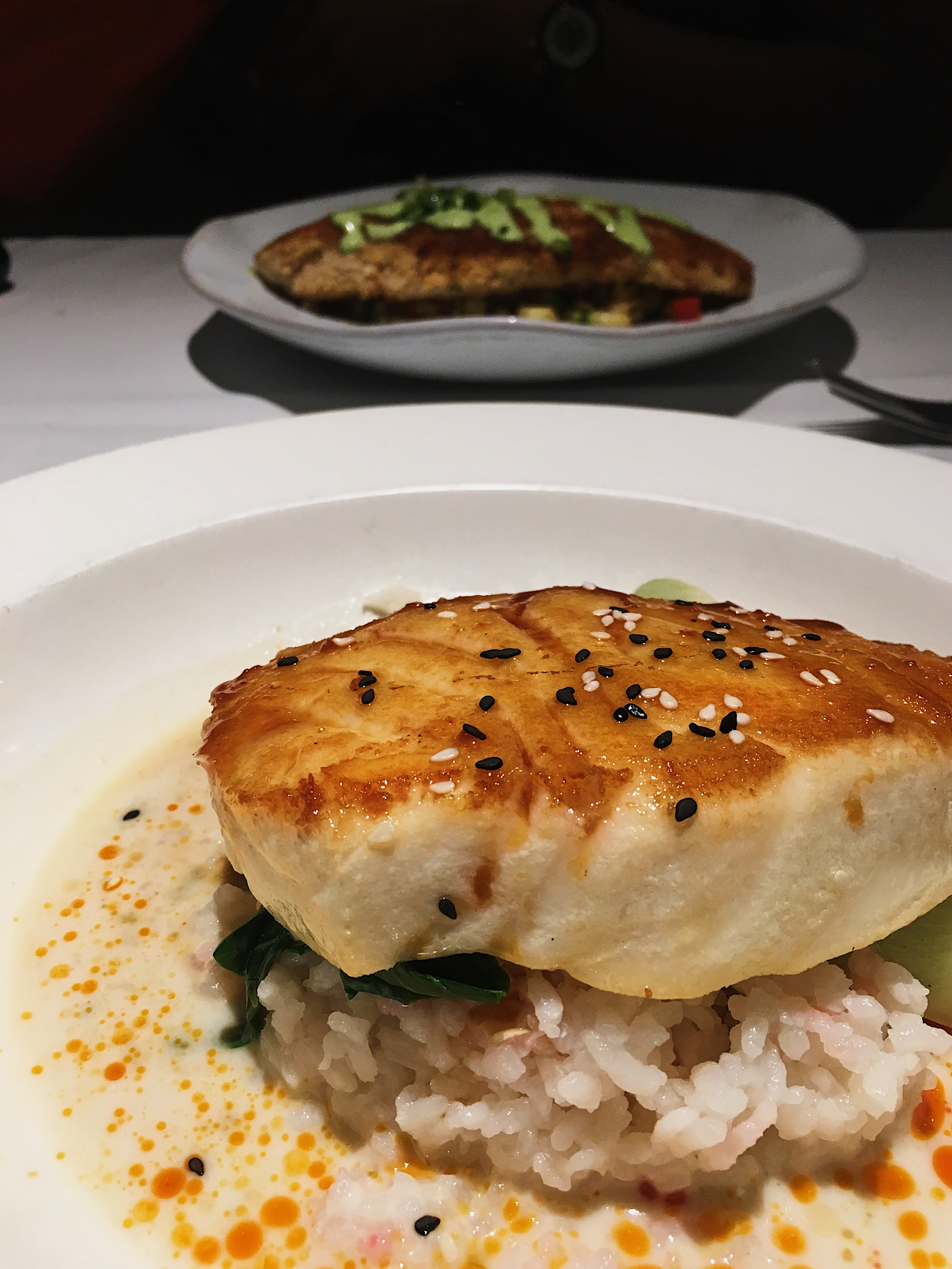 pacifica seafood restaurant-palm springs-fish-dinner-date night