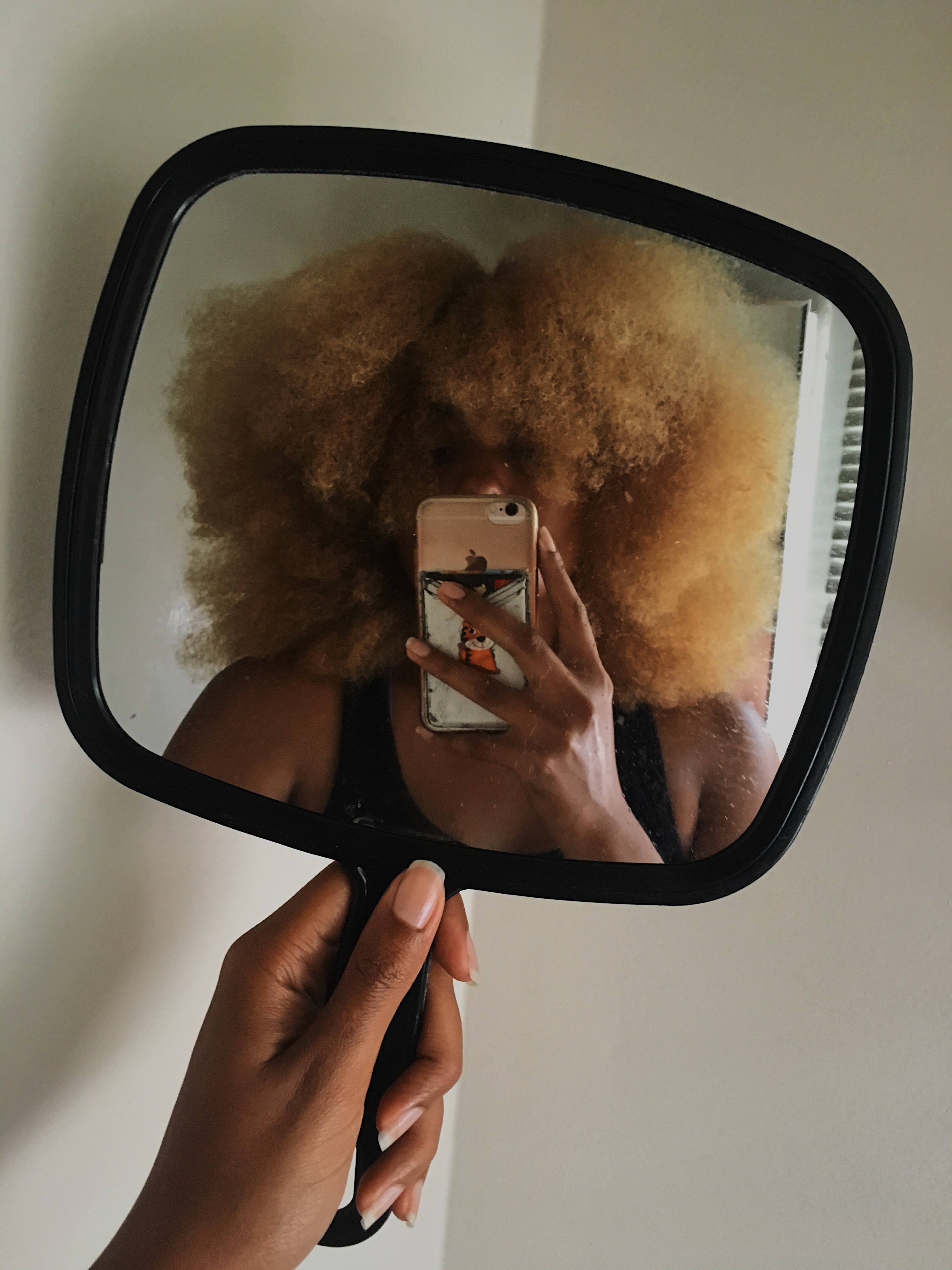castor oil afro-mirro picture-reflection