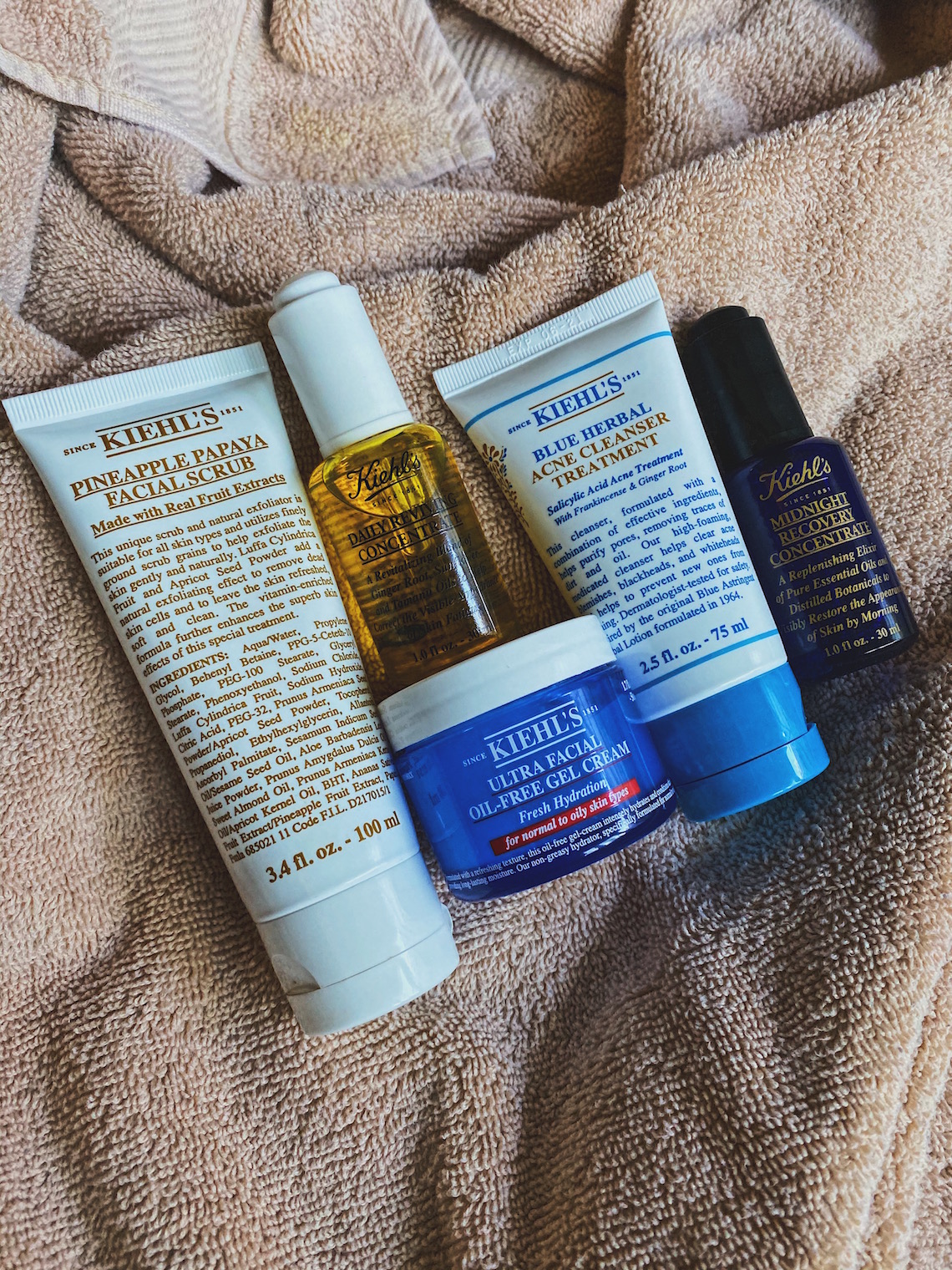 best products for combination skin-kiehls